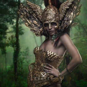 Estilismo dorado Wild goddess I